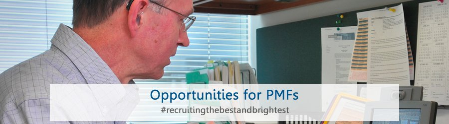 Opportunities for PMFs