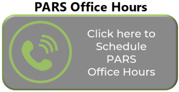 PARS Office Hours